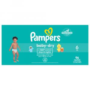 Pampers Size 6 Baby Dry Diapers