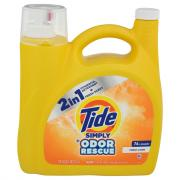 Tide Simply Odor Rescue Fresh Linen Laundry Detergent