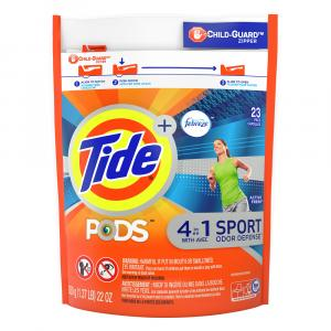 Tide PODS with Febreze Active Fresh