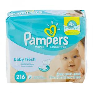 Pampers Baby Fresh Wipes Refill