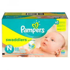 Pampers Swaddlers Newborn Super Pack
