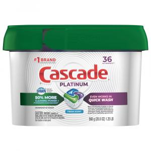 Cascade Platinum Action Pacs Fresh