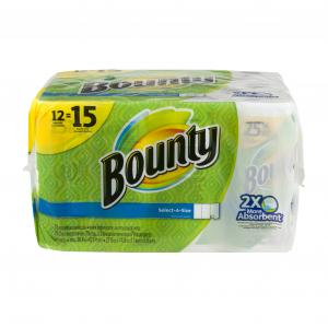 Bounty Select-a-size Large Rolls White Paper Towels