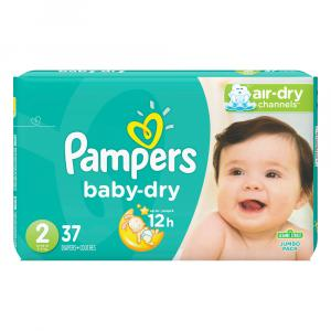 Pampers Size 2 Baby Dry Jumbo Pack