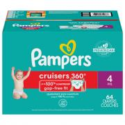 Pampers Stage 4 Cruisers 360 Fit Diapers