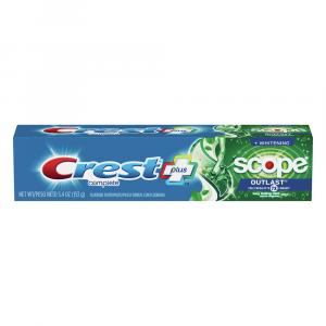 Crest Complete Plus Whitening Scope Outlast Toothpaste