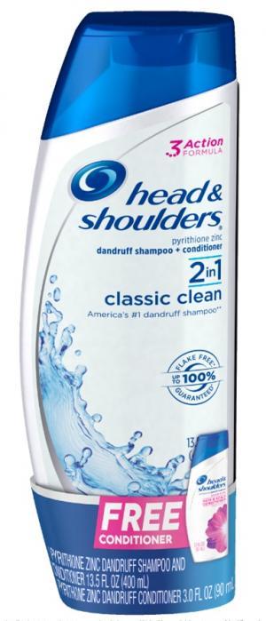 Head & Shoulders 2in1 Classic Clean Bonus Pack