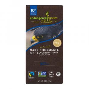 Endangered Species Dark Chocolate Blackberry Sage