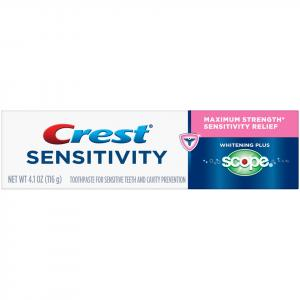 Crest Sensitive Relief Whitening Plus Scope Toothpaste