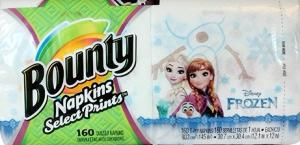 Bounty Frozen Napkins Select Prints