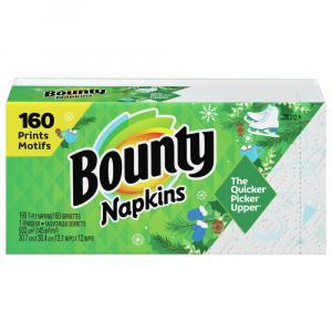 Bounty Signature Prints Napkins