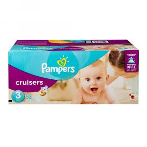 Pampers Size 3 Cruisers Super Pack