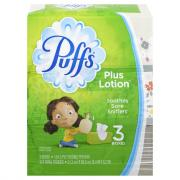 Puffs Plus Aloe Facial Tissues