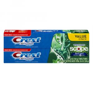 Crest Complete Whitening Scope Outlast Toothpaste