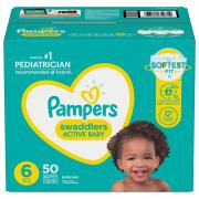 Pampers Size 6 Swaddlers Super Mix