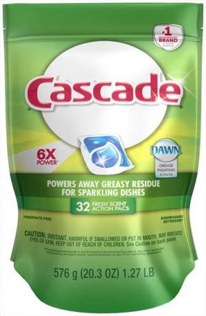 Cascade Fresh Scent Action Pacs Dishwasher Detergent