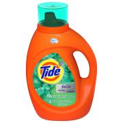 Tide Plus Febreeze Botanical Rain 59 Loads