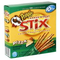 Pringles Pizza Flavored Stix