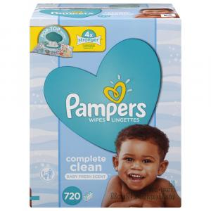 Pampers Baby Wipes Complete Clean