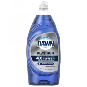 Dawn Platinum Refreshing Rain Liquid Dish Soap