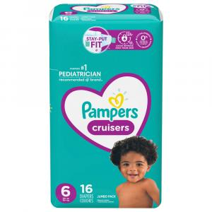 Pampers Size 6 Cruisers Jumbo Pack