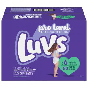 Luvs Size 6 Diapers
