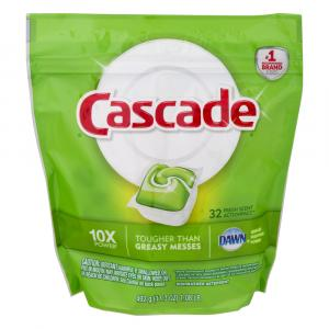 Cascade Action Pacs Fresh Scent