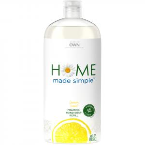Home Made Simple Foaming Hand Soap Refill Lemon Scent
