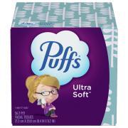 Puffs Ultra Designs Cube Facial Tissues