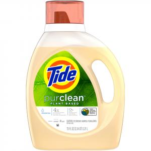 Tide Pure Clean Unscented Laundry Detergent