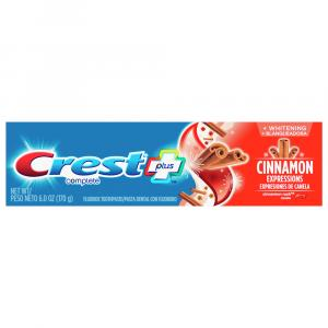 Crest Complete Plus Cinnamon Whitening Expressions