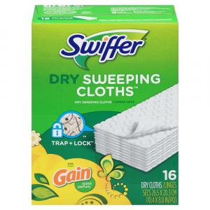 Swiffer Sweeper Dry Cloths with Gain