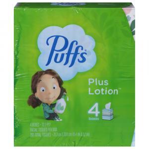 Puffs Plus Lotion Mega Cube