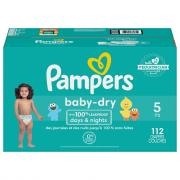 Pampers Baby Dry Size 5 Giant Pack