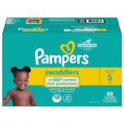 Pampers Size 5 Swaddlers Giant Mix