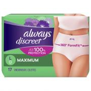 Always Discreet Underwear Maximum Large