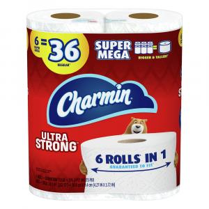 Charmin Ultra Strong Super Mega Roll Bath Tissue