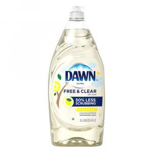 Dawn Pure Essentials Lemon Essence Scent Dishwashing Liquid