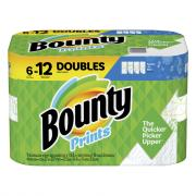 Bounty Select-A-Size Prints Double Roll Paper Towels
