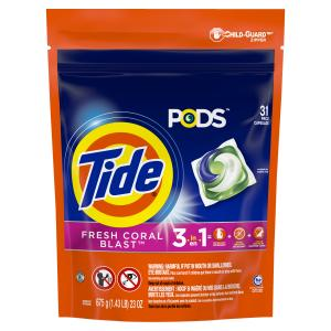 Tide Pods Fresh Coral Laundry Detergent