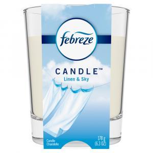Febreze Linen & Sky Candle