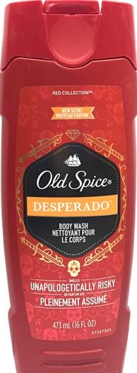 Old Spice Red Zone Desperado Body Wash
