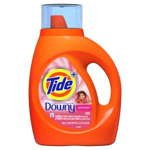 Tide Liquid With Downy April Fresh 19 Load