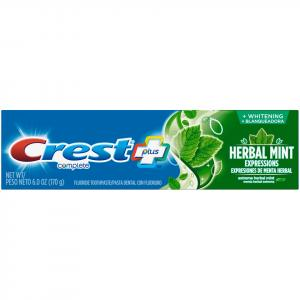 Crest Whitening Expressions Herbal Mint Toothpaste