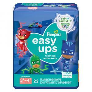 Pampers Easyups Boy 3T-4T Training Underwear