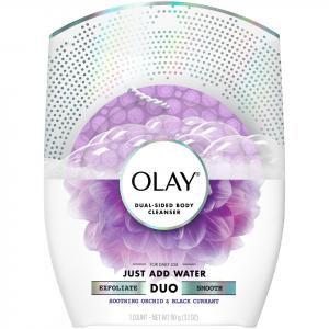 Olay Duo Body Cleanser Soothing Orchid-black Currant