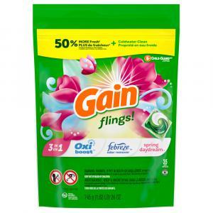 Gain Flings! Spring Daydream Detergent Pacs