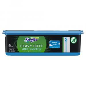 Swiffer Sweeper Wet Heavy Duty Cloths Open-Window Fresh