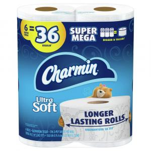 Charmin Ultra Soft Super Mega Roll Bath Tissue