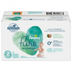 Pampers Pure Protection Super Pack Size 2